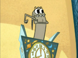 Waffle's Alarm Clock