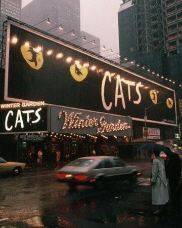Broadway Production Winter Garden Theatre Cats Musical Wiki