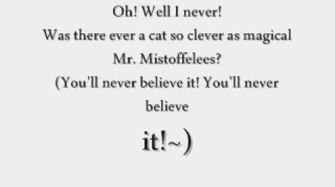 Mistoffelees - London 1981 Audio and Lyrics