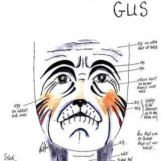 Gus Make-up Design