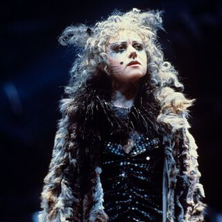 Elaine as Grizabella circa 1981