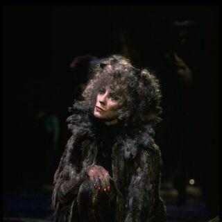 |Betty Buckley as Grizabella on Broadway, 1982
