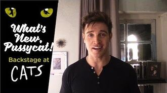 Episode 14 - What's New, Pussycat? Backstage at CATS with Tyler Hanes