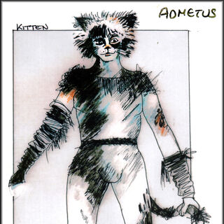 Admetus/Kitten Design, re-worked into a cool grey palette. John Napier