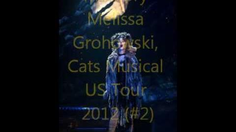 Memory - Melissa Grohowski US Tour 2012 Audio