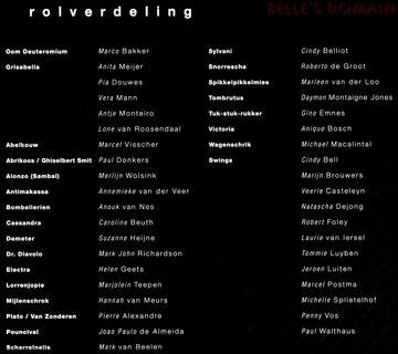 Dutch Tour 2006 Cast