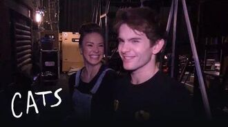 Mungojerrie and Rumpelteazer's Backstage Tour (Part One) Cats the Musical