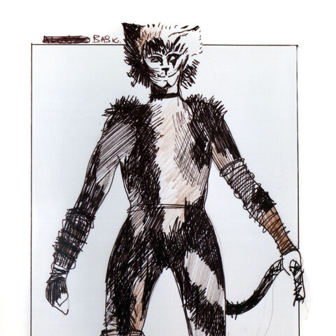 Original Design, used for Victor in the London production.
