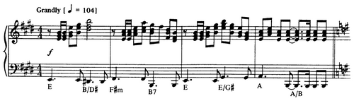 Journey to the Heaviside Layer sheet music excerpt