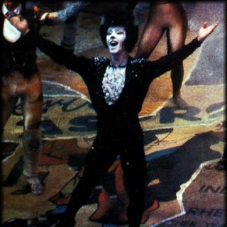 Fergus Logan as Mistoffelees in London, 1997