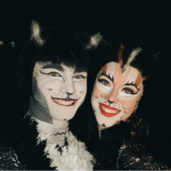 as Mistoffelees with Melody Rose as Tantomile