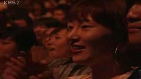 Justine Puy As Sillabub on Korean TV, 2008