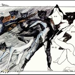 Concept for the Jellicle Ball