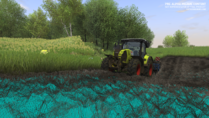 Cattle and crops dynamic-terrain