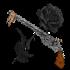 Чёрная роза и кольт