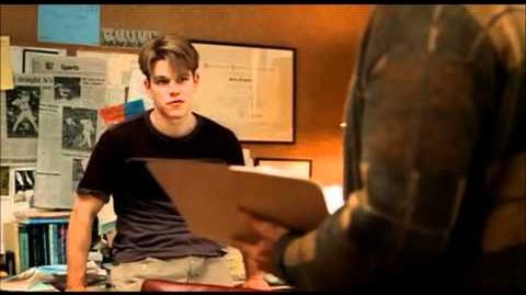 """Famous Movie Scene Good Will Hunting """"It's Not Your Fault"""" HD"""