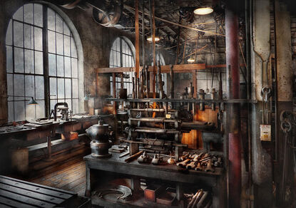 Steampunk-room-steampunk-studio-mike-savad