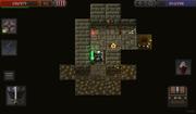 Торговец и его дом(немного разрушенный)