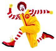 Ronald mcdonald jumping1