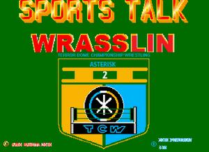 Sports Talk Wrasslin