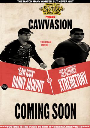 Cawvasion Poster