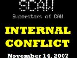 SCAW Internal Conflict