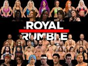 New-WWE Royal Rumble 11 Poster