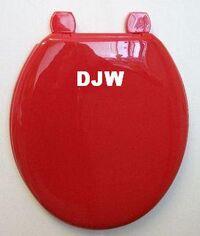 DJW Ruby Toilet Seat