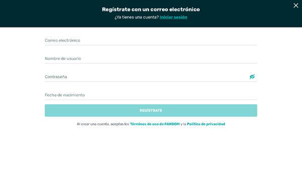 Registrar-se - 2
