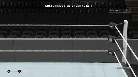 WWE 2K18 Ange Hillz Move Set