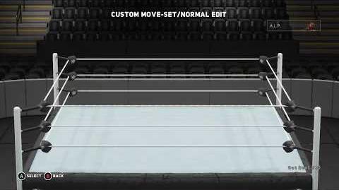 WWE 2K18 A.L.P. Move Set