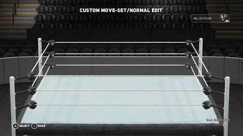 WWE 2K18 Minotauro Move Set