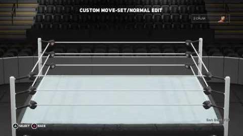 WWE 2K18 2 Crunk Move Set