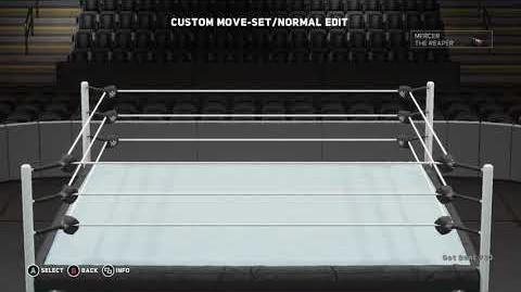 WWE 2K18 Mercer the Reaper Moveset