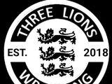 Three Lions Wrestling