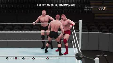 WWE 2K18 Move Set - Minotauro