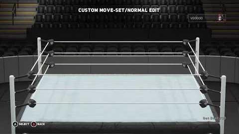 WWE 2K18 Voodoo Move Set
