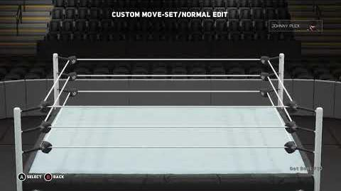 WWE 2K18 Johnny Plex Move Set