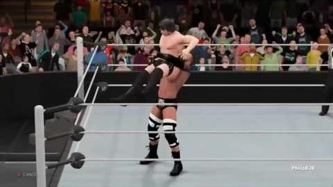 Electric-Chair German Suplex