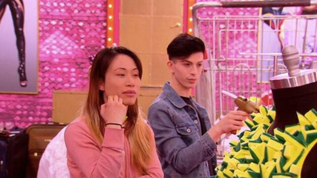 Yuhua and Aquaria out of drag on 'Drag Race'