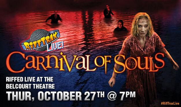 rifftrax carnival of souls poster