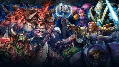 Blizzard 25th Anniversary Celebration Trailer