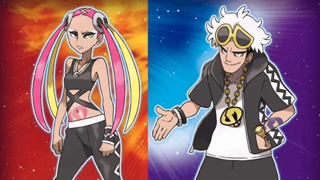 Pokemon Sun and Moon New Villains Team Skull