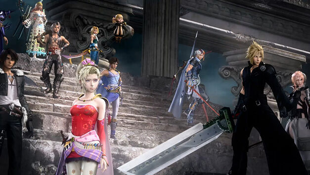 Main protagonists from Final Fantasy gather for battle in DIssidia Final Fantasy NT