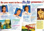CBBC Annual 2000 Blue Peter presenter