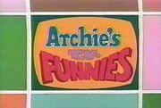 Archie's tv funnies