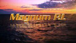 Magnum PI (2018) titlecard