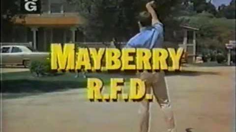 Mayberry R.F.D. Season 1 Intro