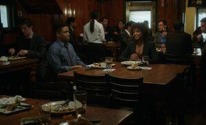 S06E12-Marcus Chantal dinner