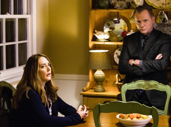 011 An Unnatural Arrangement episode still of Cheryl and Tommy Gregson